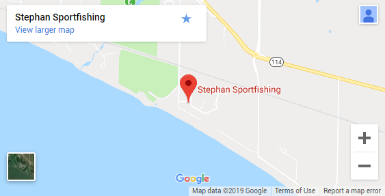 Map of Green Bay WI Fishing Guides